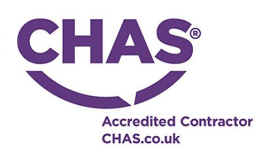 Earls Scaffolding has been accredited by CHAS