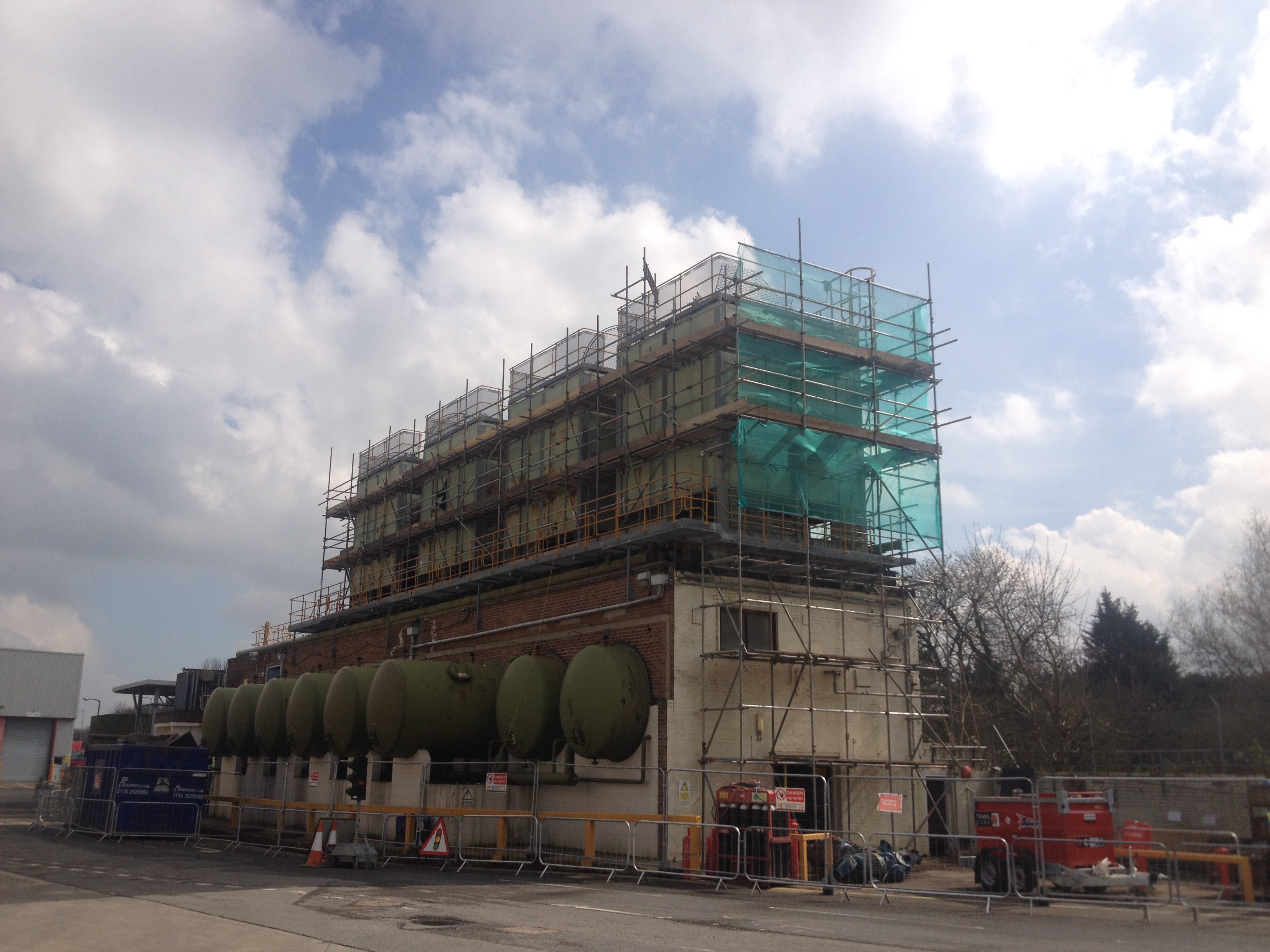 Earls Scaffolding - Independent Design Scaffolding - Mars Petcare - Industrial Scaffolding