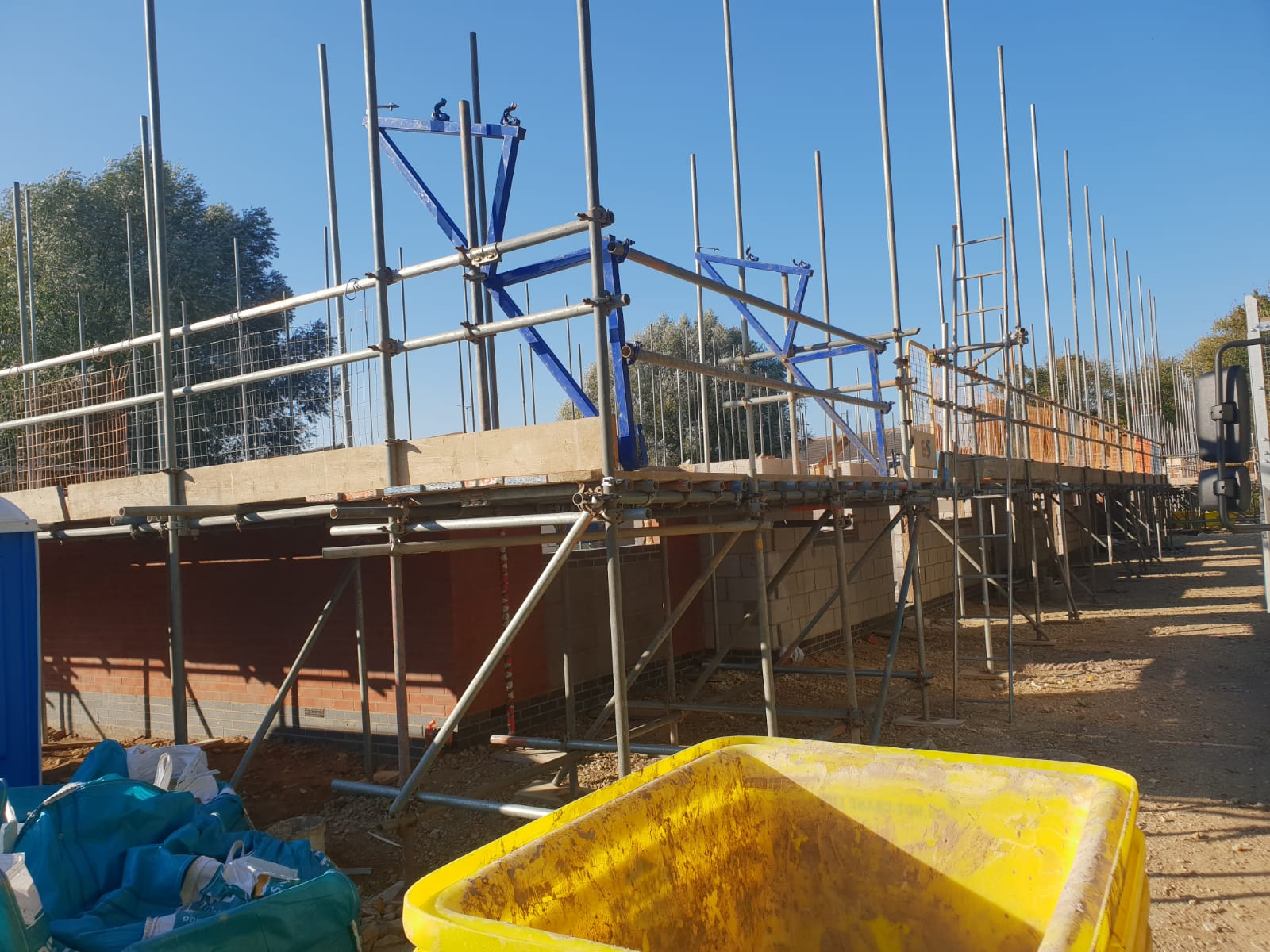 Earls Scaffolding - Independent Scaffolding - Domestic Scaffolding - Peterborough Block of Flats6