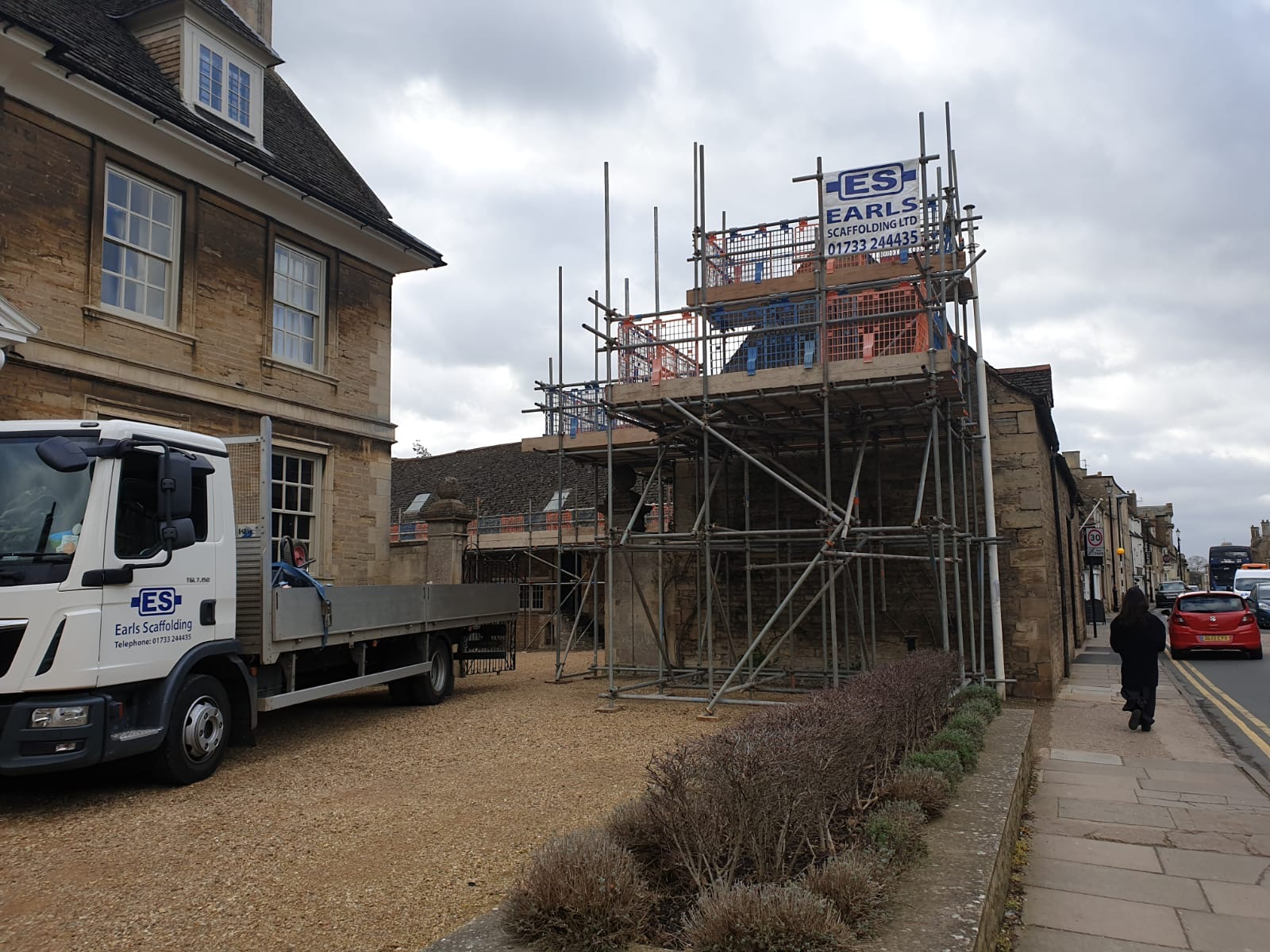 New Scaffolding Contract with Oundle School